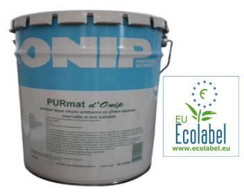 Peinture mate acrylique Ecolabel : le PURmat d'Onip est disponible
