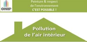 Pollution de l'air intérieur : l'infographie Onip