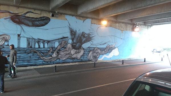 Fresque à Corbeil réalisée avec les produits Onip