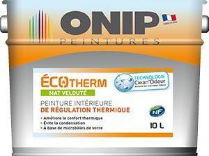 Peinture ecotherm regulation thermique