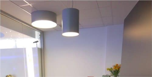 Plafond de l'agence de Rouen