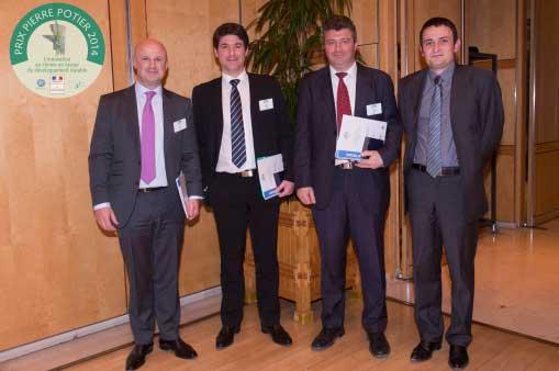 4 lauréats du Prix Pierre Potier 2015