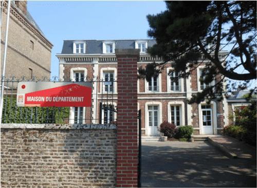Maison du Département à Rouen rénovée en Label'Onip Clean'R
