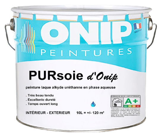 peinture pur soie d'onip