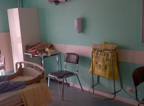 Chantier Clean'R : Espace réanimation de la clinique de l'Europe à Amiens