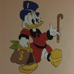 fresque-murale-daffy-duck-onip