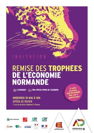 Invitation aux Trophées de l'Economie Normandie