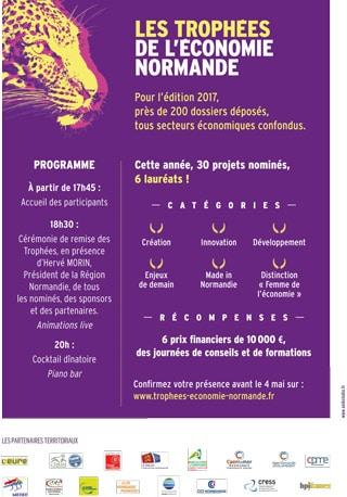 Invitation aux Trophées de l'Economie Normande
