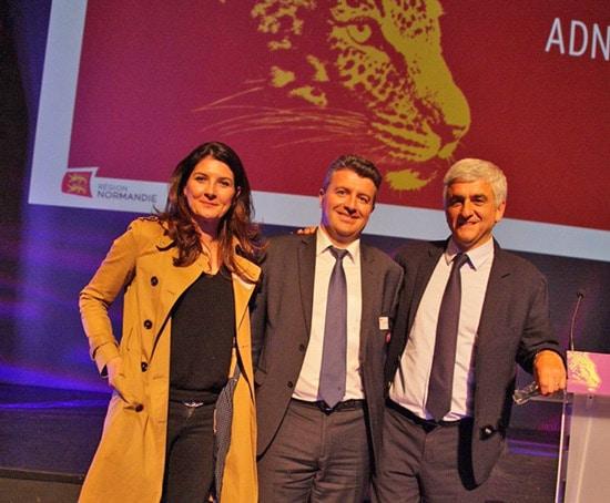 Remise de prix pour Onip aux Trophées de l'Économie Normande