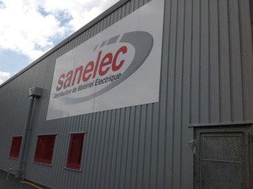 Les locaux de SANELEC peints en Label'Onip Clean'R Satin