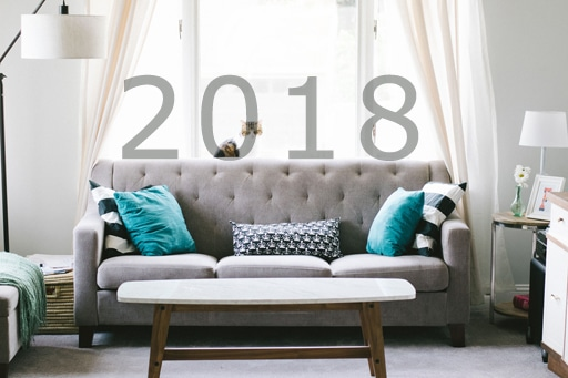 bonnes resolutions deco 2018