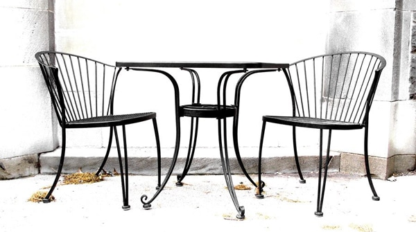 renover mobilier metal