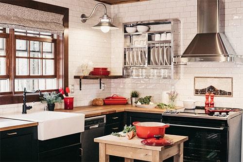 renover cuisine peinture detruit mauvaises odeurs