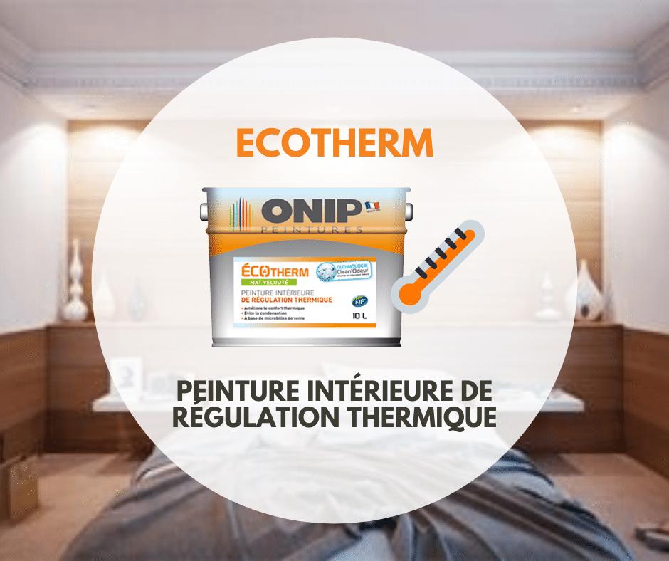 peinture de regulation thermique ecotherm