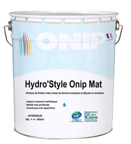 peinture Hydro'Style Onip mat