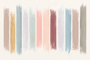 différents types de peinture intérieure et finitions