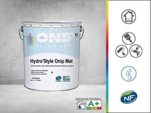 peinture de finition hydrostyle onip mat