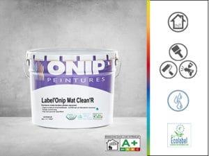 peinture label onip mat clean r
