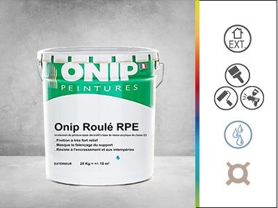 revêtement peinture décoratif onip roulé RPE