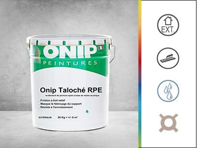 Revêtement peinture épais onip taloché RPE