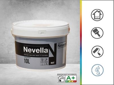 peinture vinylique mate pour les murs et plafonds