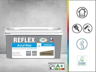 reflex acryl mat peinture de finition