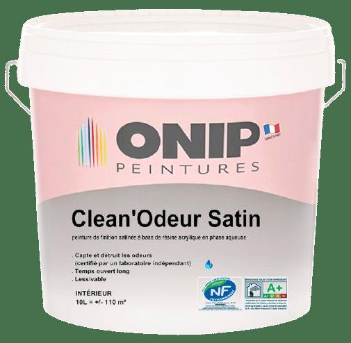 peinture anti odeur clean odeur satin