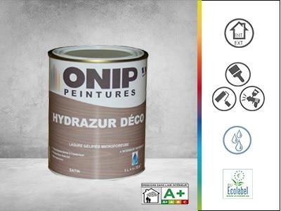 peinture bois hydrazur déco