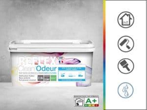 peinture anti odeurs reflex clean odeur mat